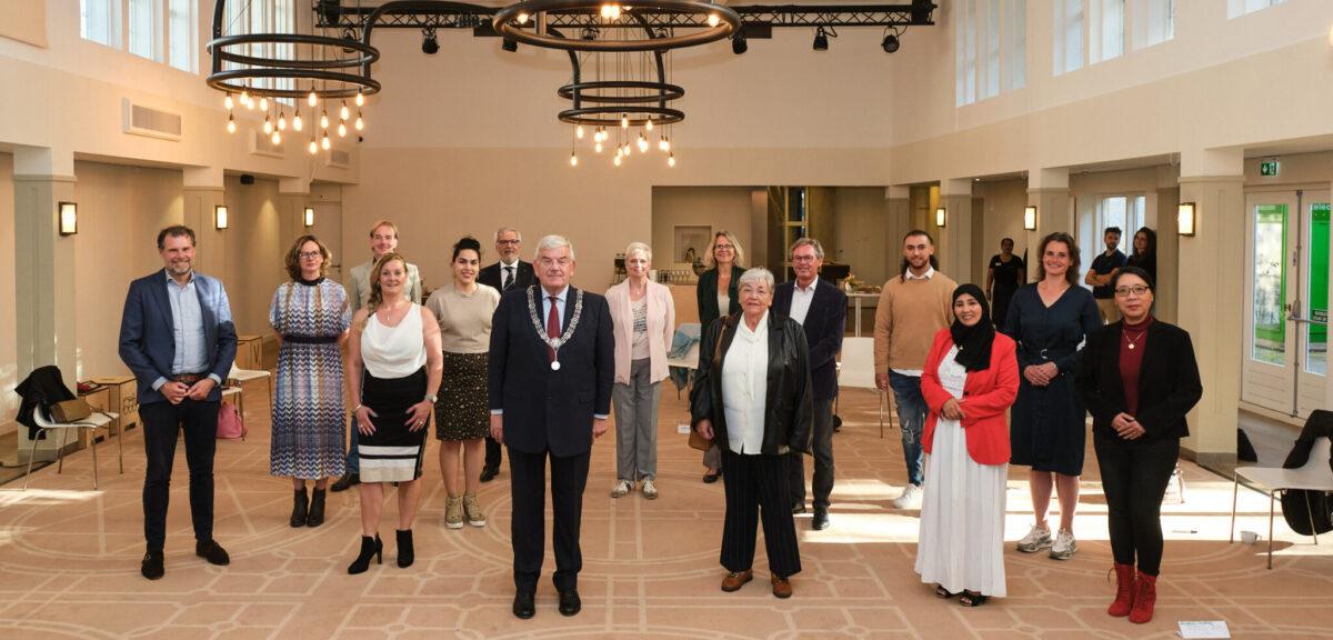 In gesprek met burgemeester Jan van Zanen